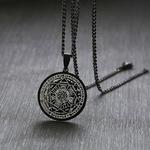 Sept-pendentifs-magiques-en-acier-inoxydable-bijoux-en-forme-d-ange-Talisman-bijoux-en-acier-inoxydable