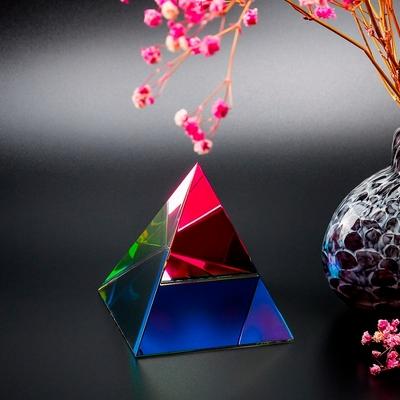 Pyramide-en-cristal-irisé capteur d'énergie-boutique-zen-style