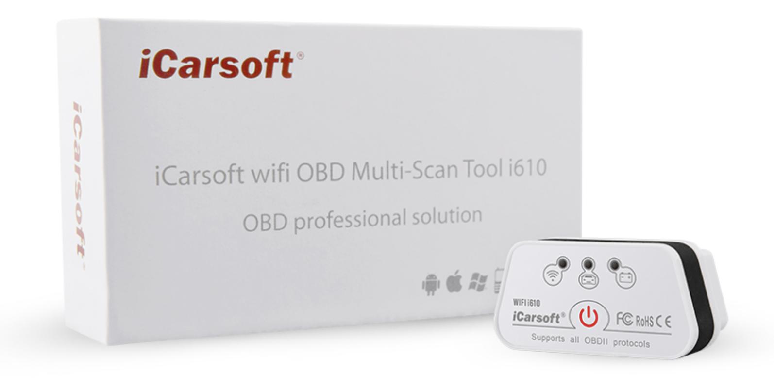 iCarsoft i610 Wifi