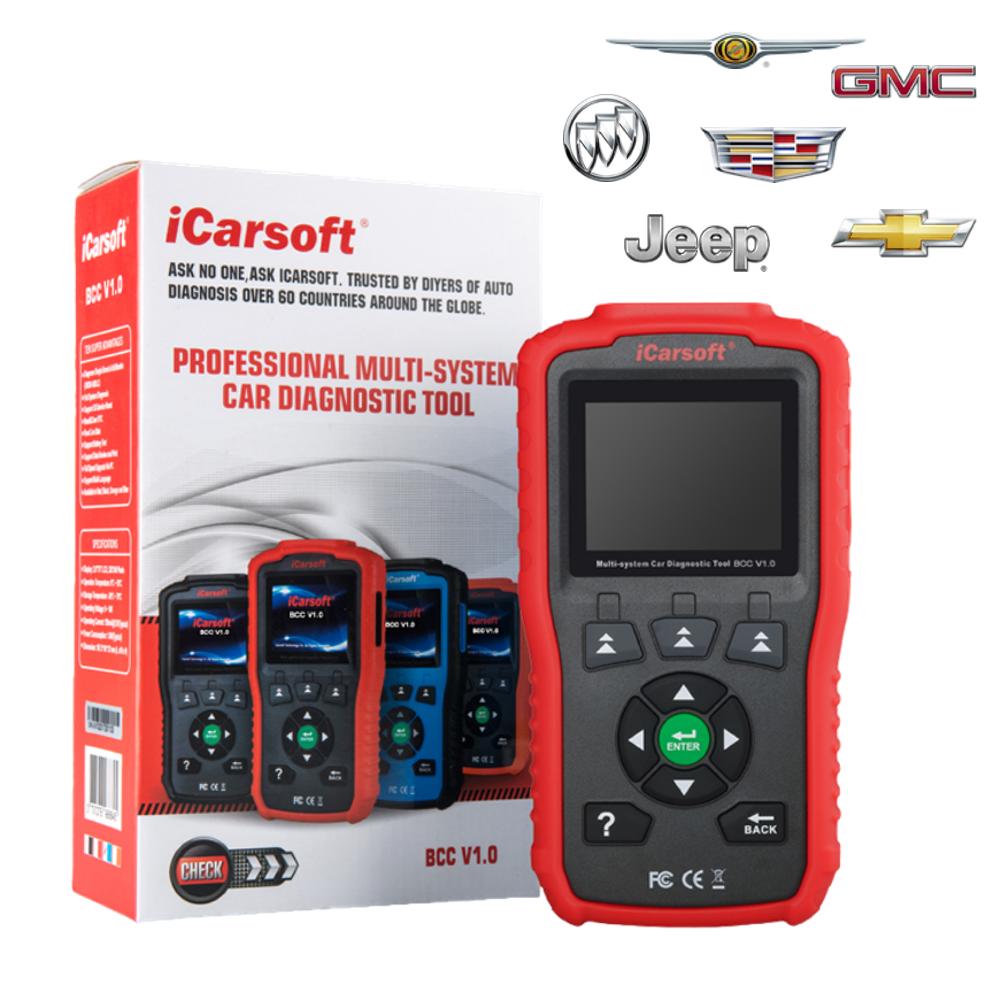 iCarsoft BCC V1.0