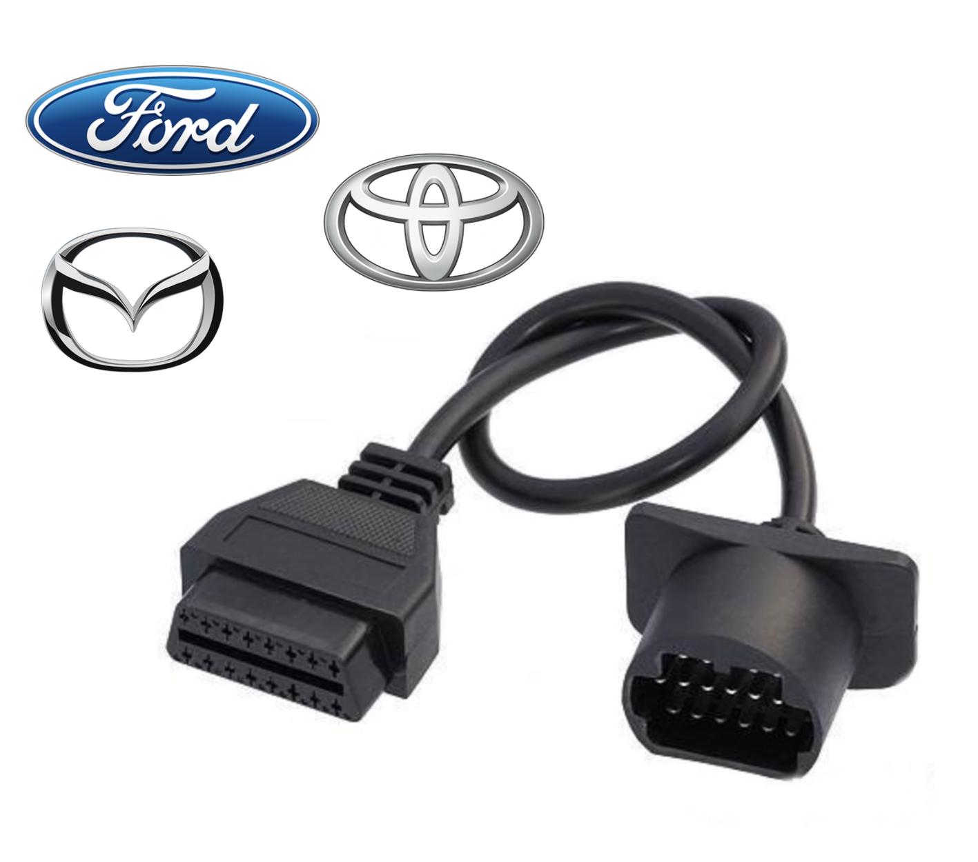 Adaptateur OBD2 Ford / Toyota / Mazda 17 broches