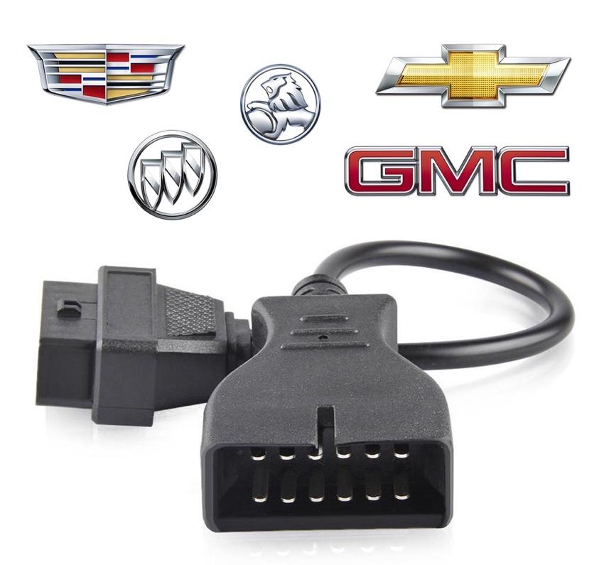 Adaptateur OBD2 General Motors 12 broches