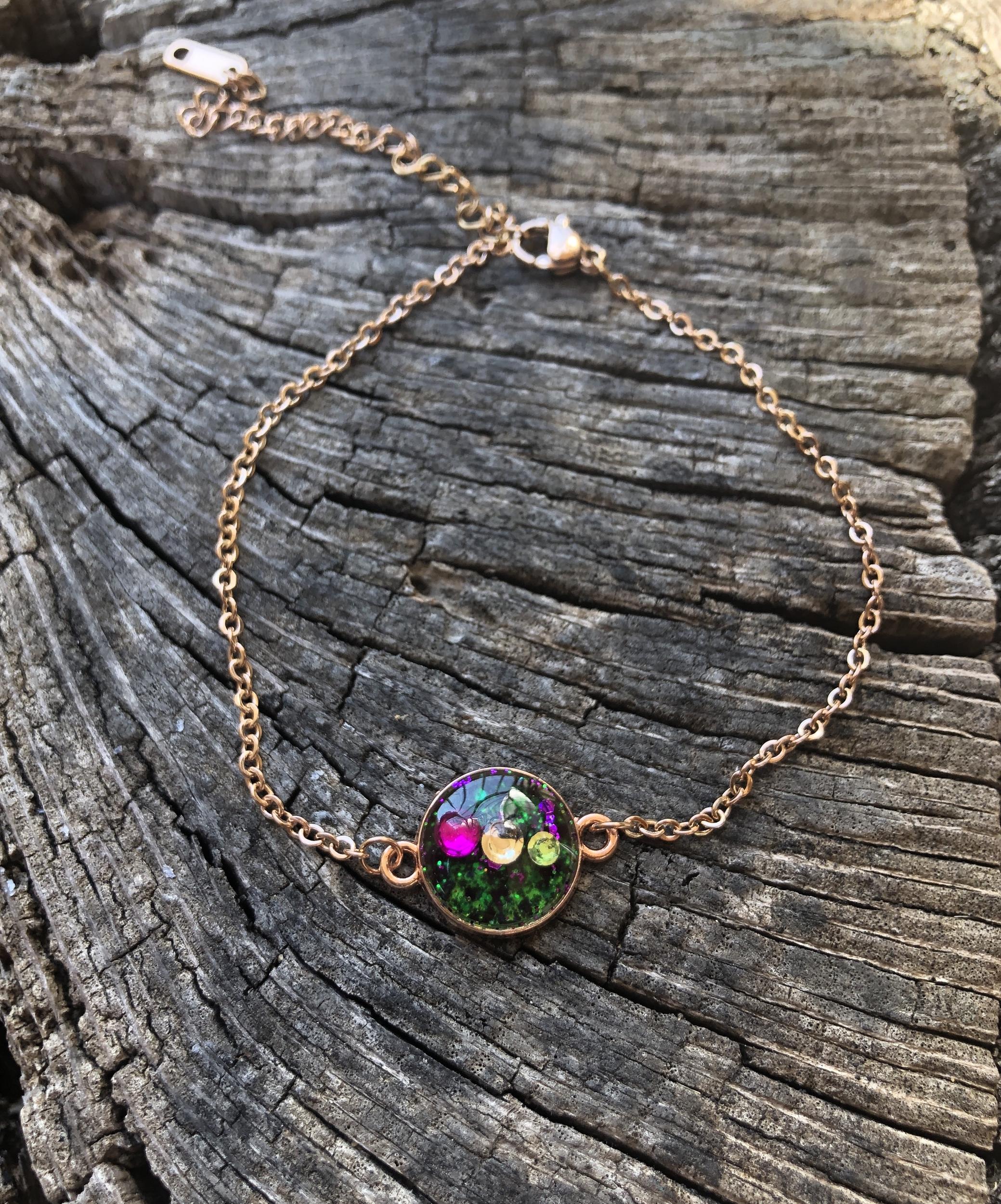 Bracelet Orion or rose Amour de soi