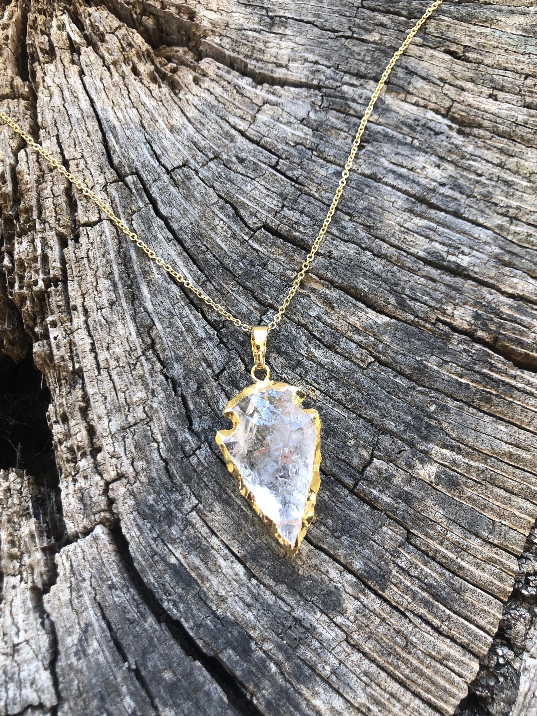 Collier pierre semi precieuse AGATHE soin au choix
