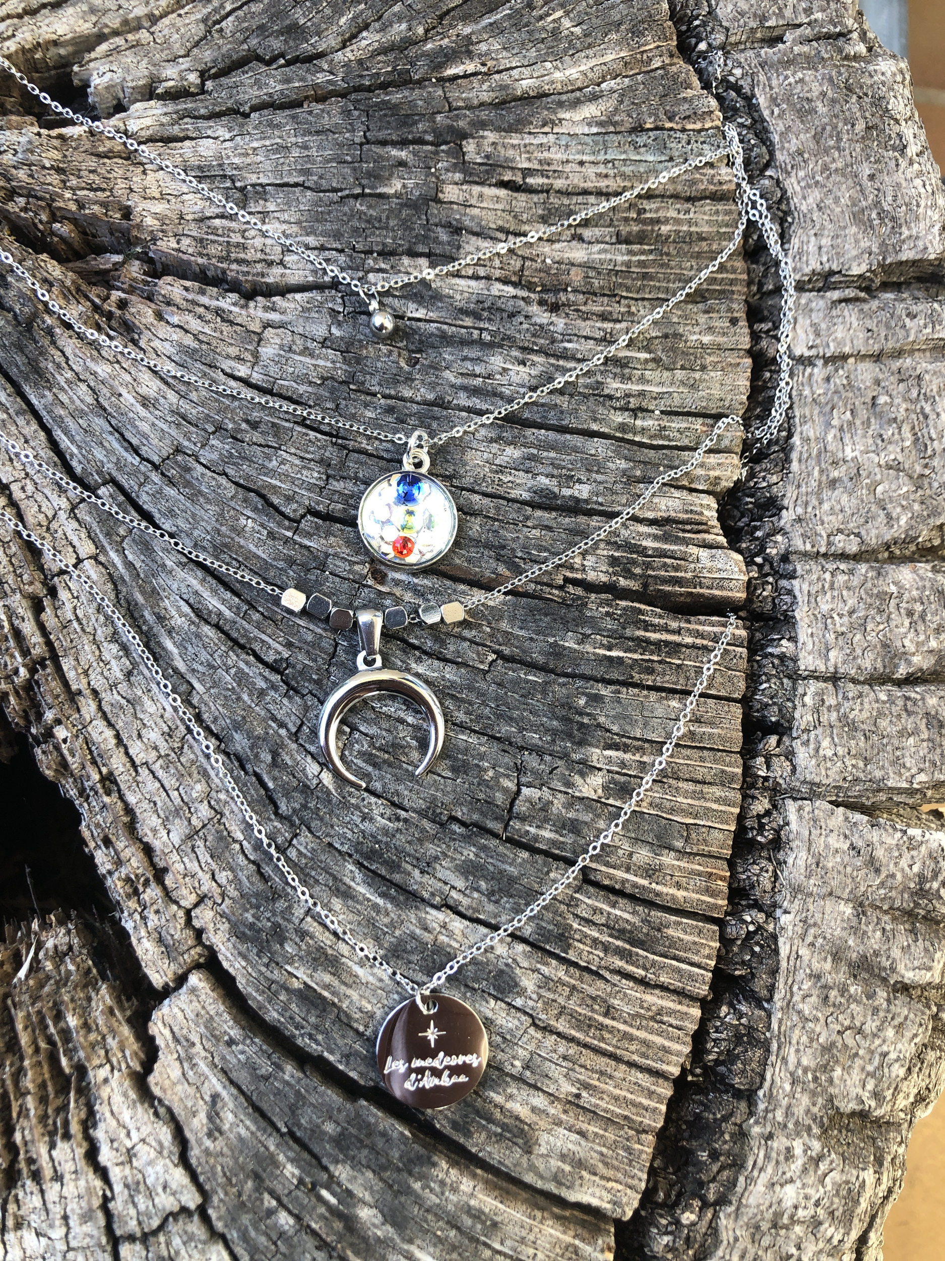 Collier  4 rangs Soin Intuitions et canalisation