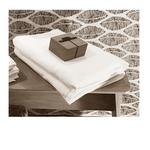 Le comptoir de l'hôtellerie Tapis de bain Maison dhôte Blanc Gites et locations saisonnières Linge de lit pas cher