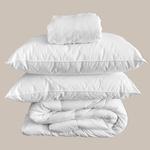 Le comptoir de l'hôtellerie Protège-matelas Luxe 5* Blanc Chambres d'hôtes et location airbnb Linge de maison qualité hôtelière