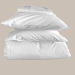 Le comptoir de l'hôtellerie Taie d'oreiller Luxe 5* Blanc Chambres d'hôtes et location airbnb Linge de maison qualité hôtelière