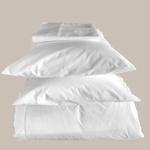 Le comptoir de l'hôtellerie Taie d'oreiller Prestige 4* Blanc Chambres d'hôtes et location airbnb Grossiste à prix usine linge de maison