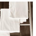 Le comptoir de l'hôtellerie Housse de couette Maison dhôte Blanc Chambres et maisons d'hôtes Grossiste linge de maisons et de bains Linge de qualité hôtellières à prix