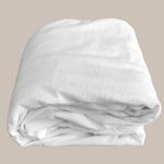 Le comptoir de l'hôtellerie Protège-matelas prestige 4* Blanc Chambres d'hôtes et location airbnb Linge de maison qualité hôtelière