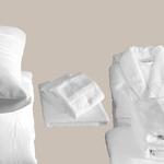 Le comptoir de l'hôtellerie Taie doreiller Luxe 5* Blanc Chambres d'hôtes et location airbnb Linge de maison qualité hôtelière