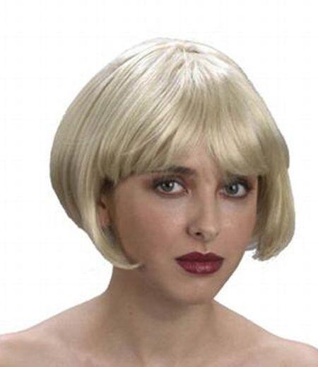 Perruque Carrée Blonde