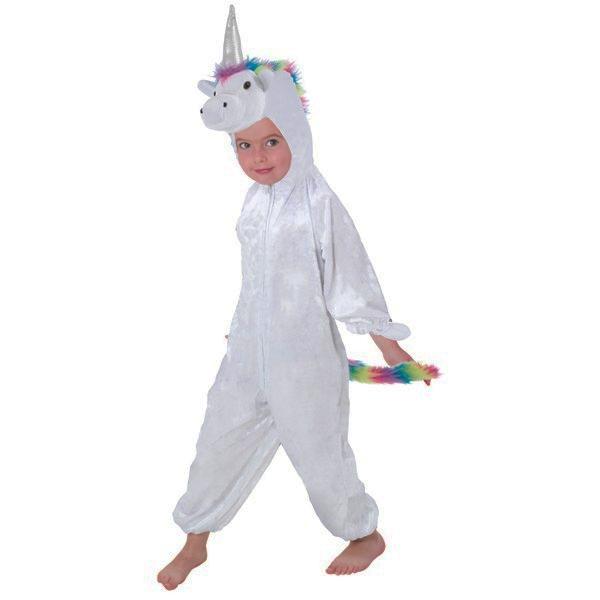Déguisement licorne blanche enfant