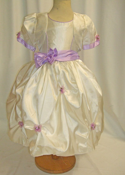 Robe de cérémonie enfant avec boléro