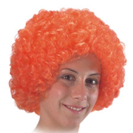 Perruque Pop Orange Éco