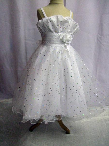 Robe de cérémonie enfant blanche