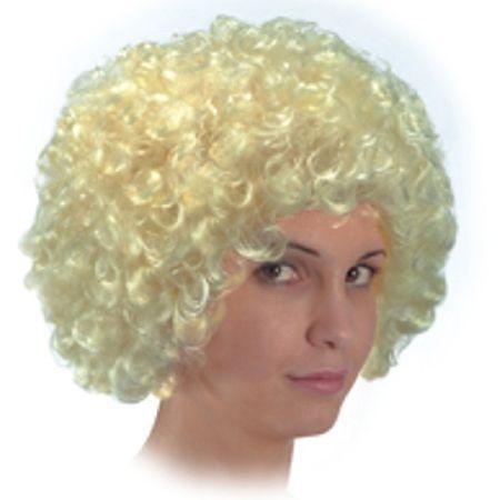 Perruque Pop Bouclée Blonde