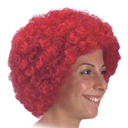 Perruque Pop Éco Rouge