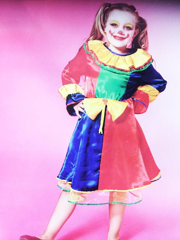 Déguisement de Clown Enfant fille