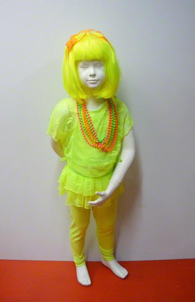 3 pièces enfant fluo jaune