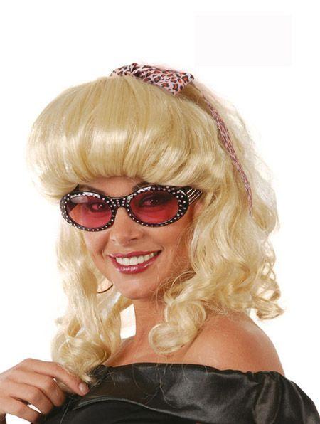 Perruque 60\' Blonde