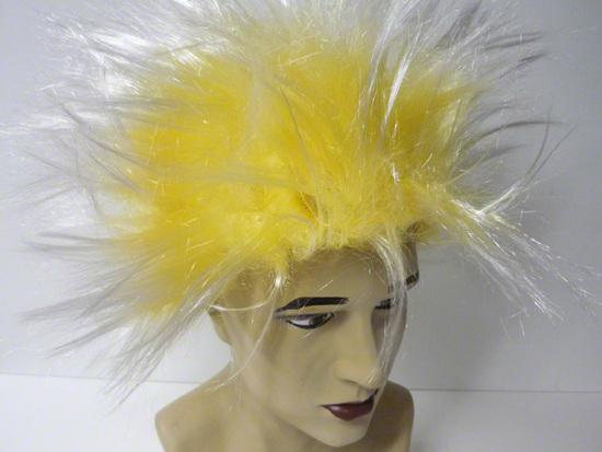Perruque manga jaune