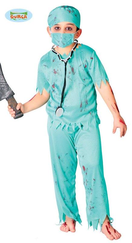 Déguisement de chirurgien sanglant enfant