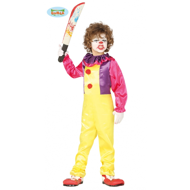 Déguisement de clown halloween