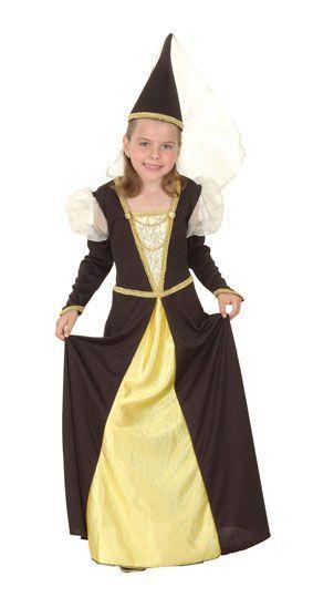 Déguisement Reine Médiévale Enfant