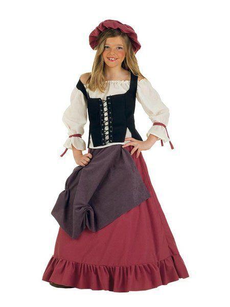 Déguisement de Tavernière Médiévale Enfant