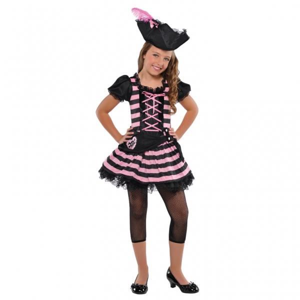 Déguisement De pirate fille rose