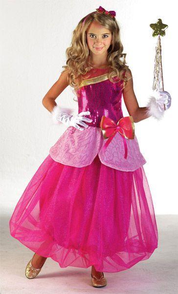 Déguisement de Princesse Rose façon Barbie