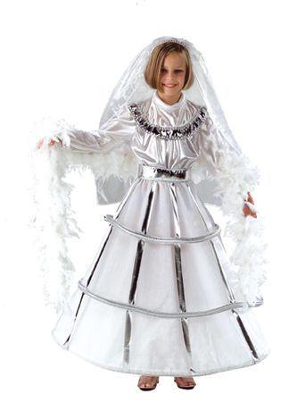 Déguisement d\'Ange Ou Mariée Enfant