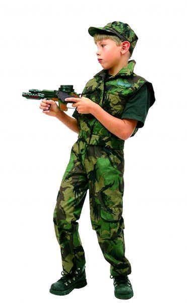 Déguisement Commando Pour Enfant