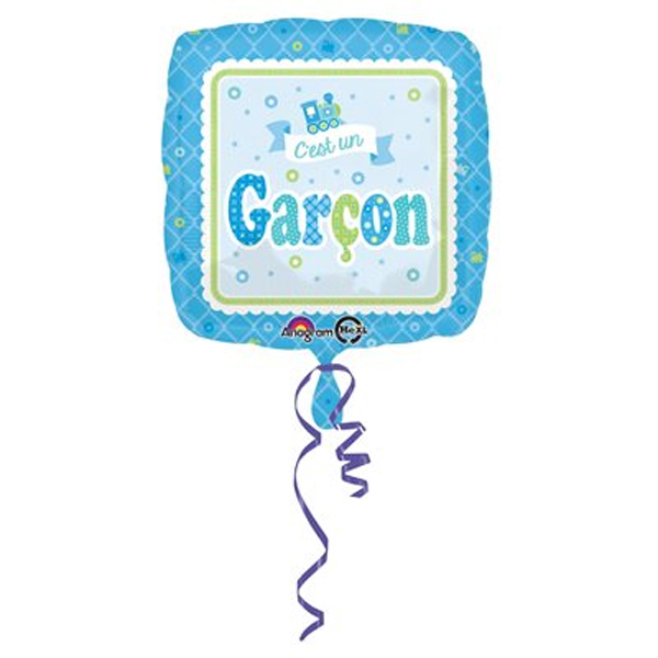 Ballon Mylar Baby Shower C\'est un garçon