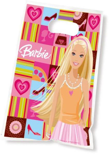 6 Sachets Cadeaux (16X23 Cm) - Barbie Fashion©