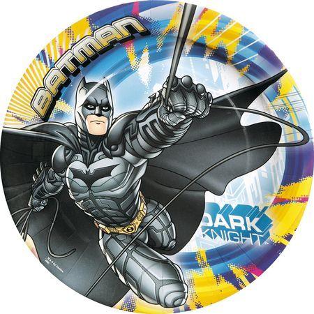 8 Assiettes (18Cm) -Batman™
