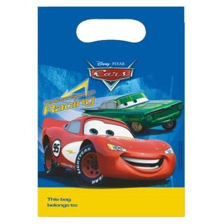 6 Pochettes Cadeaux Cars