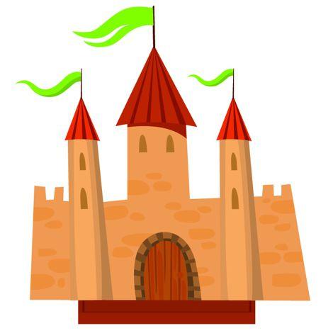 Centre de table château médiéval