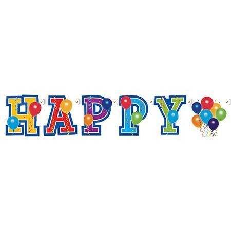 Guirlande Anniversaire Ballons