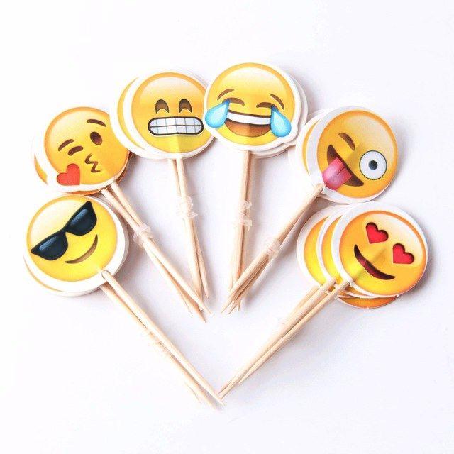12 Piques apéritifs émoticône , emoji