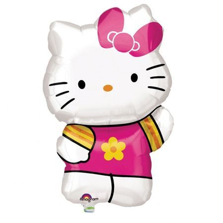 Ballon Hello Kitty En Aluminium