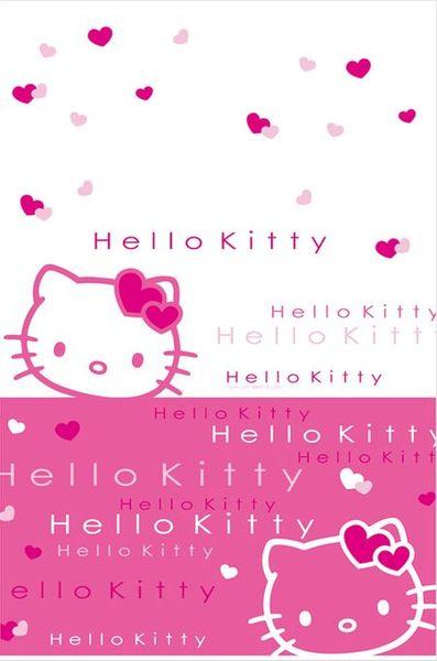 1 Nappe Papier - Pliée (120Cmx180Cm) - Hello Kitty©