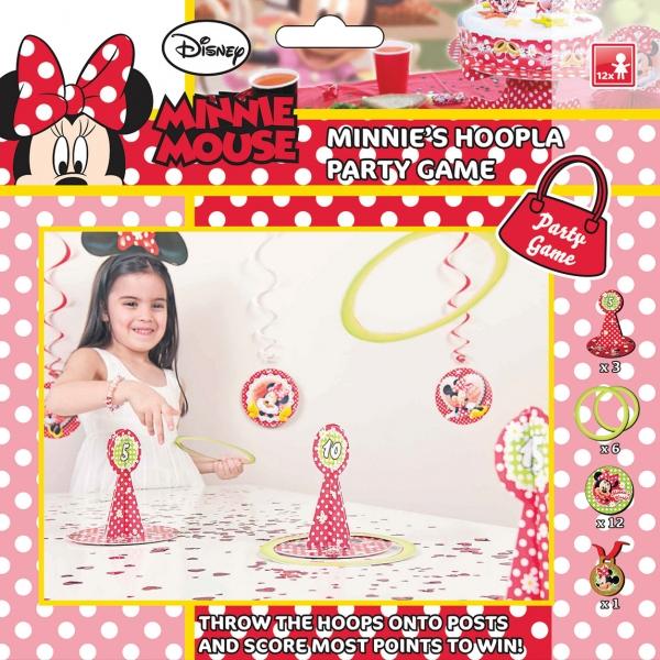 Jeux des anneaux thème Minnie