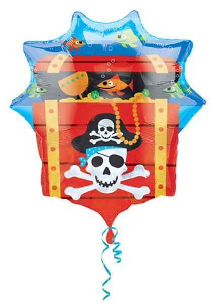Ballon Géant Coffre de Pirate