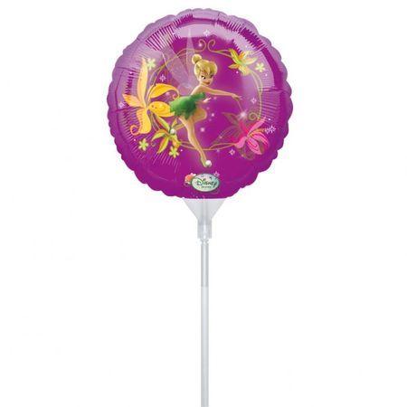 3 Ballons Mylar Fée Clochette