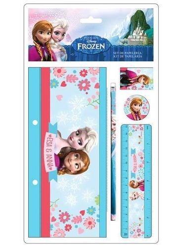Kit scolaire Elsa Reine des Neiges