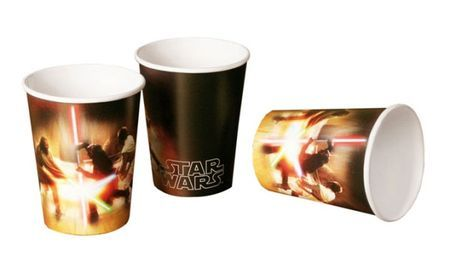 8 Gobelets Star Wars
