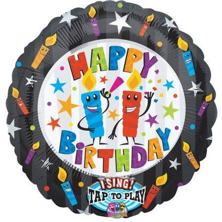 Ballon Happy Birthday Musical